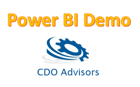CDO Advisors Power BI Demo